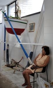 La virgen de Carmen, patrona de pescadores de Campello